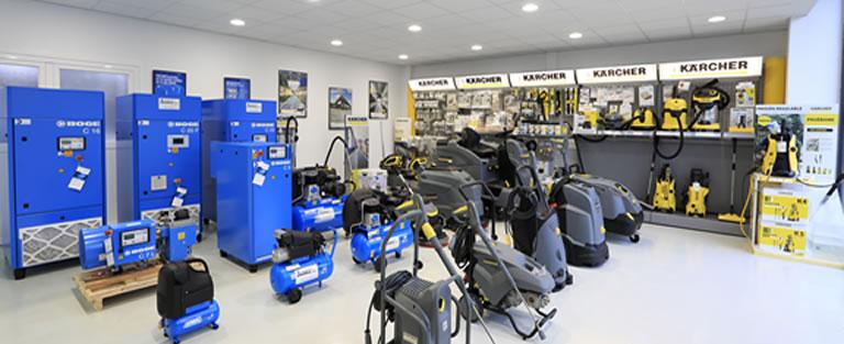 Reparación, mantenimiento, venta y alquiler de compresores de aire industriales