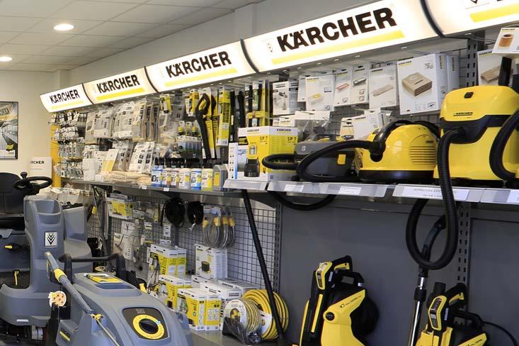 Servicio de reparación y mantenimiento de equipos KARCHER en Guipúzcoa