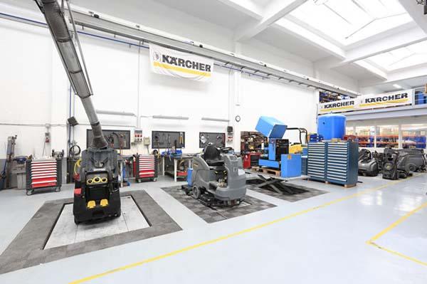 Garbiketa industrialeko ekipamenduen eta instalazio hidraulikoen eta pneumatikoen mantentze-lanak